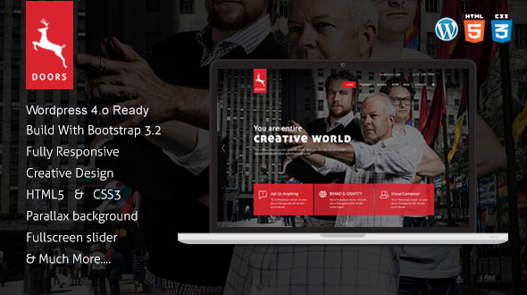Onepage Multipurpose WordPress theme