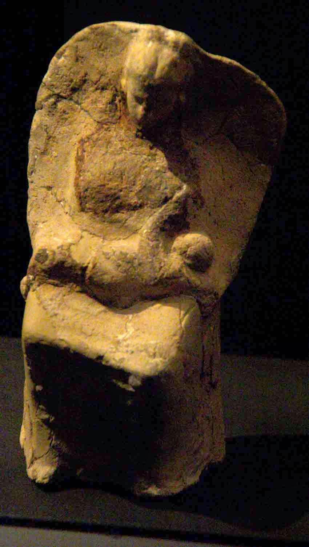 Terracota hallada en la necropolis s.o