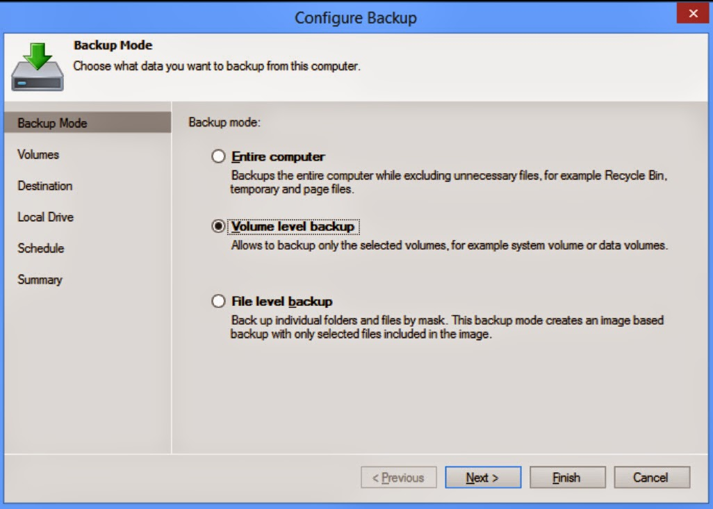 Veeam Endpint Backup Gratuito configure backup
