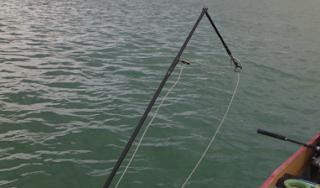 Gila Mancing Tak Dapat Ikan Joran Jadi Korban