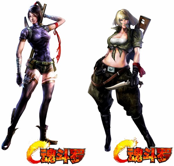 Contra Evolution Revolution HD For PC New Characters