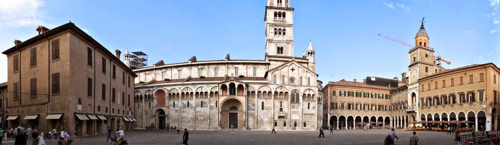 LA CIUDAD DE MÓDENA, ITALIA
