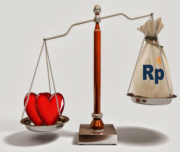 Cerpen : cintamu, cintaku, uang kita