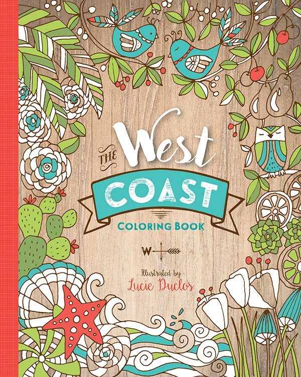 The West Coast Coloring Book