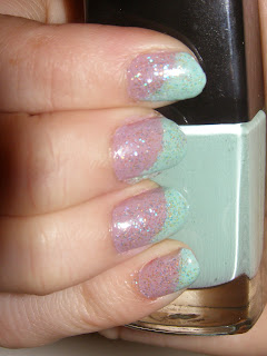 elf lilac nailpolish