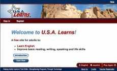 Aprender inglés online: U.S.A. Learns (www.u.s.a.learns)