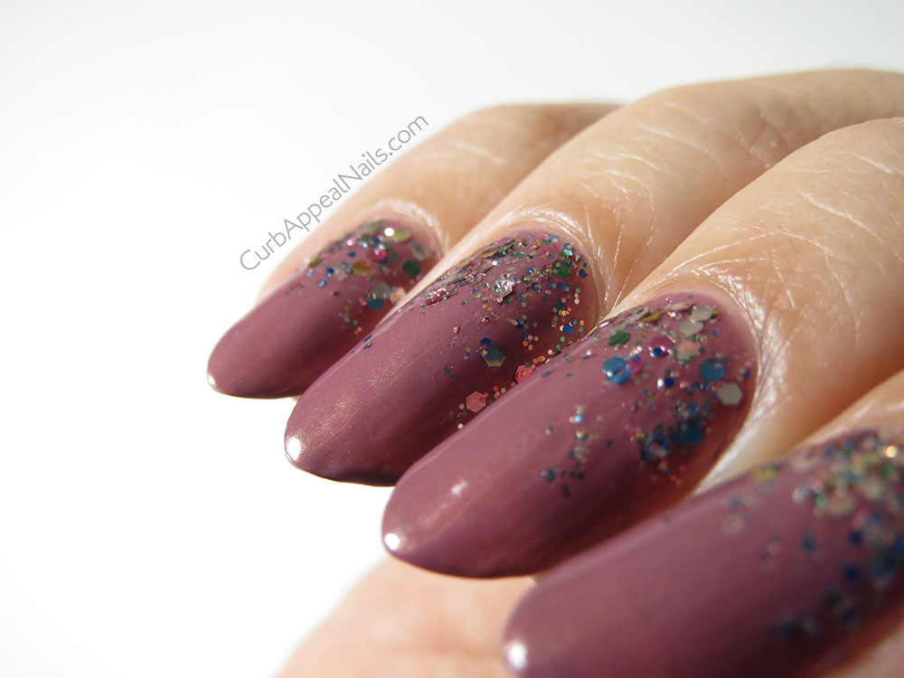 Zoya Charity with L'Oréal Sequin Explosion Gradient Glitter