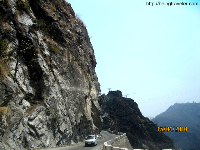 On the way to Chopta