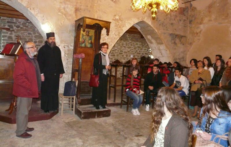 Αλιβέρι: Οι μαθητές ξεναγήθηκαν στο Αυλωνάρι (ΦΩΤΟ)