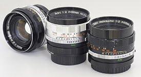 ペトリカメラの高速標準レンズ(パート2) Petri 55mm F2