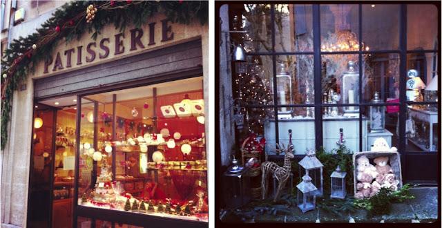 tienda y pasteleria vintage