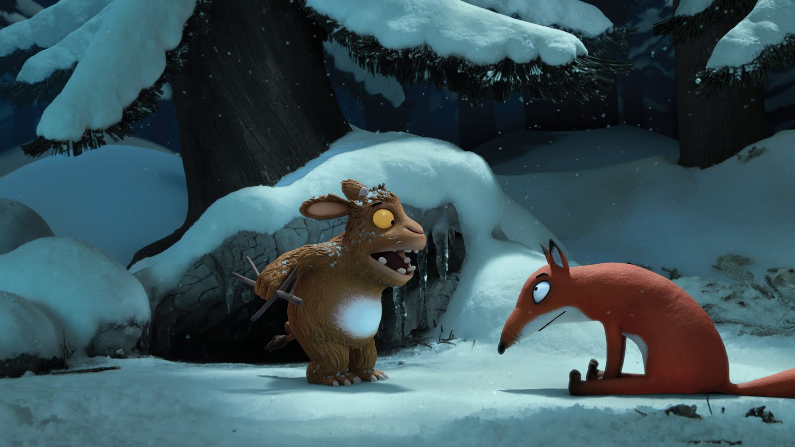 The Gruffalo's Child meets the Fox