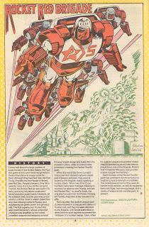 Brigada de Cohetes Rojos (ficha dc comics)