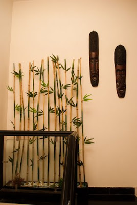 Bamboo room divider, or wall decoration unit