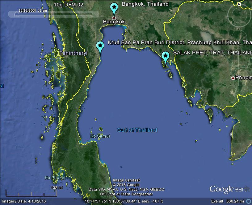The latest worldwide meteormeteorite news thailand bolide fireball thailand bolide fireball meteor apprx 2037 local 02nov2015 c2015 lunarmeteoritehunter google earth gumiabroncs Images