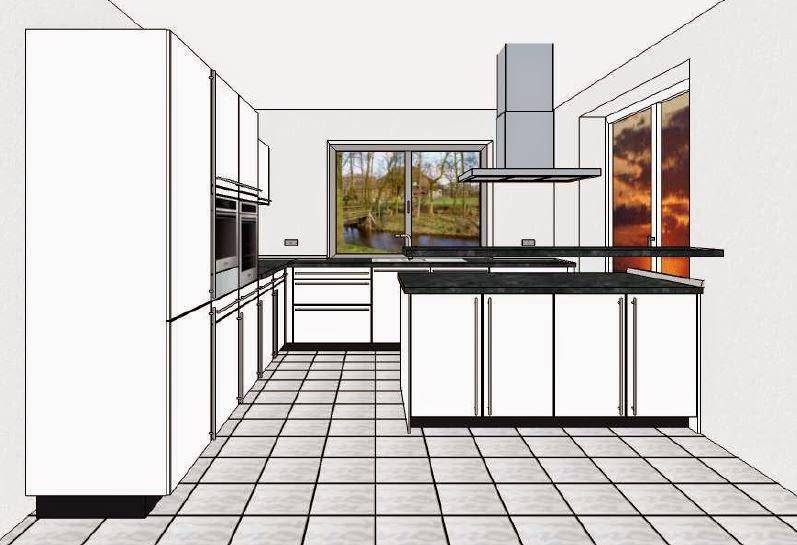 Pebbles und Bambam bauen ein Haus: Küche ein bisschen anders