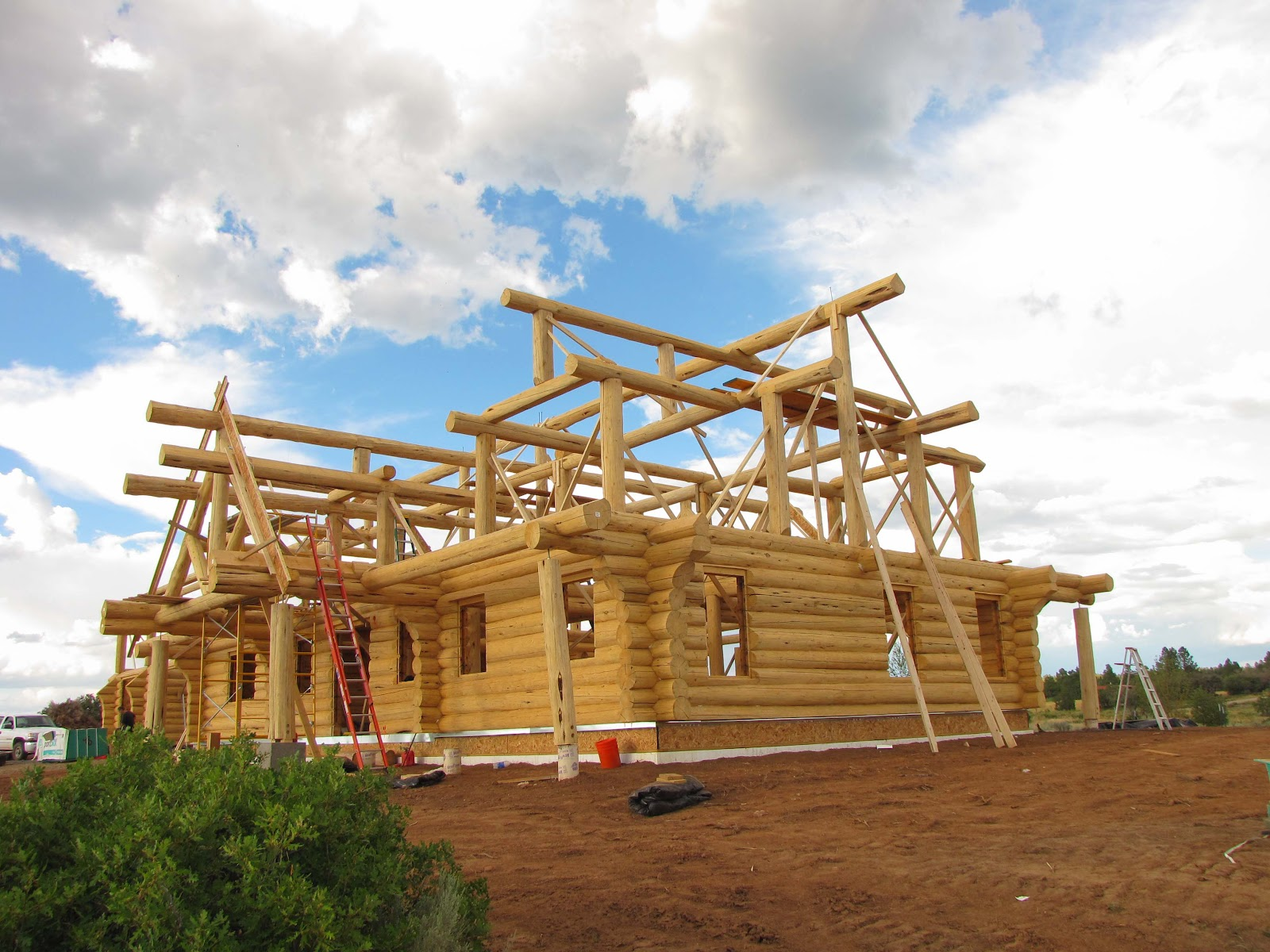 Log Home Building