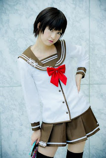 Mai cosplay as Maekawa from Denpa Onna to Seishun Otoko
