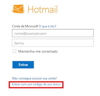 """Resolvendo problema: Não consigo me  conectar no Hotmail MSN: """"Você não tem se conectado por este local nos últimos dias"""""""