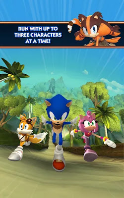 Sonic Dash: Sonic Boom MOD APK