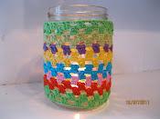 DIY hækl på glas