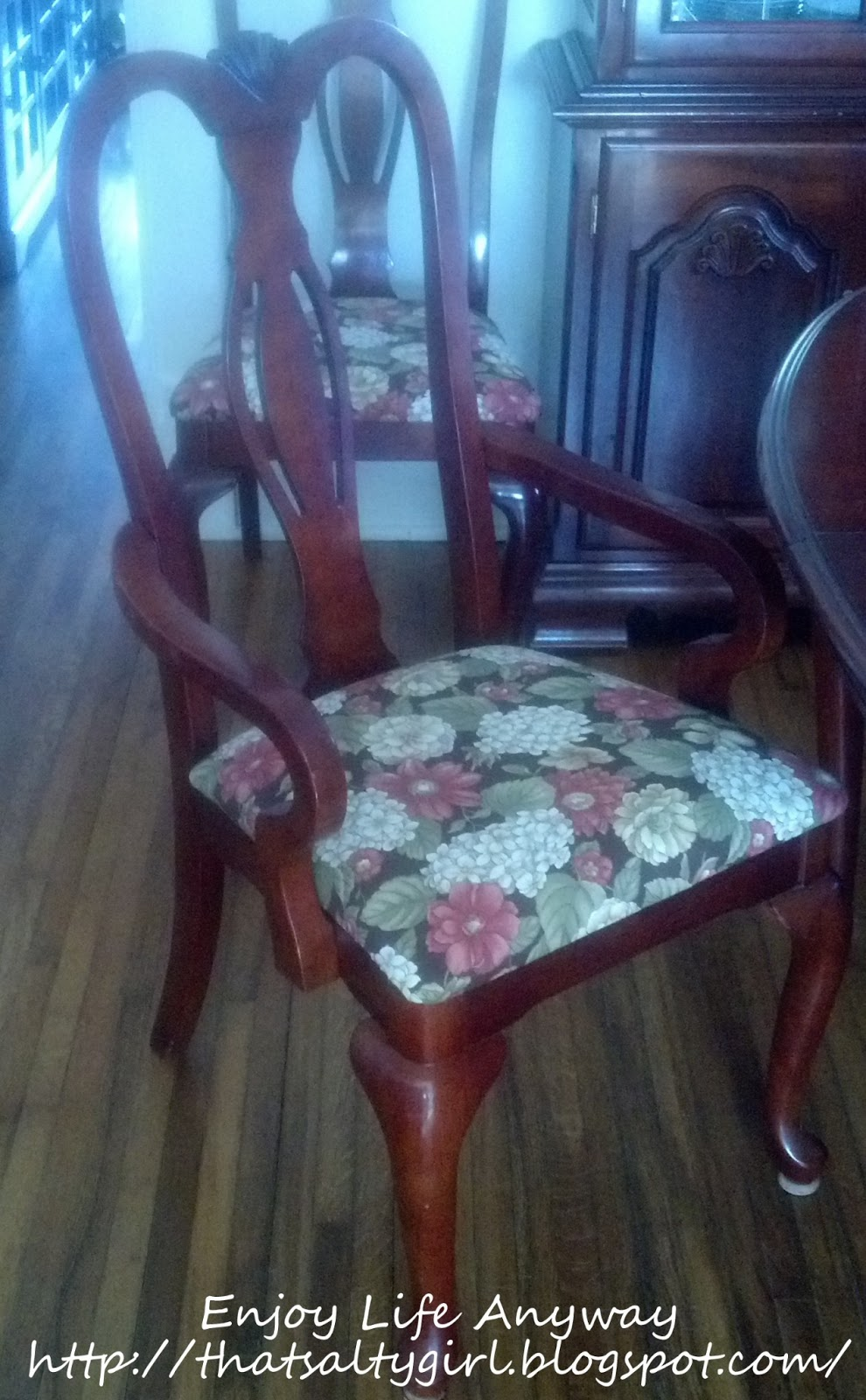 DIY Recover Your Dining Room Chairs For Under 1500