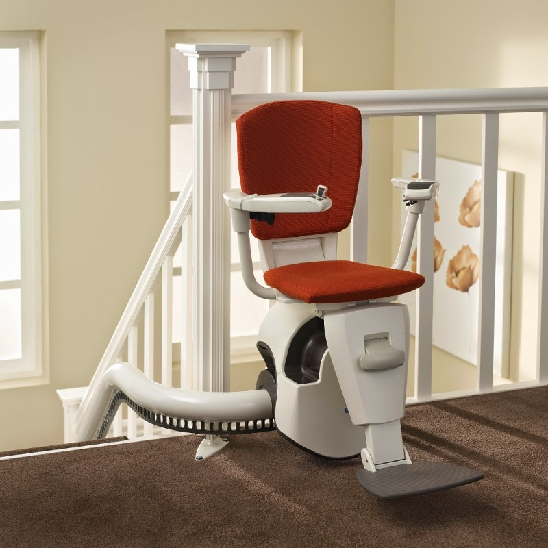 Thyssen Flow 2 Stairlift for narrow staircases