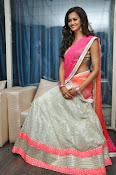 Shubra Aiyappa glamorous in half saree-thumbnail-2