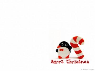 Imagen de tux en navidad