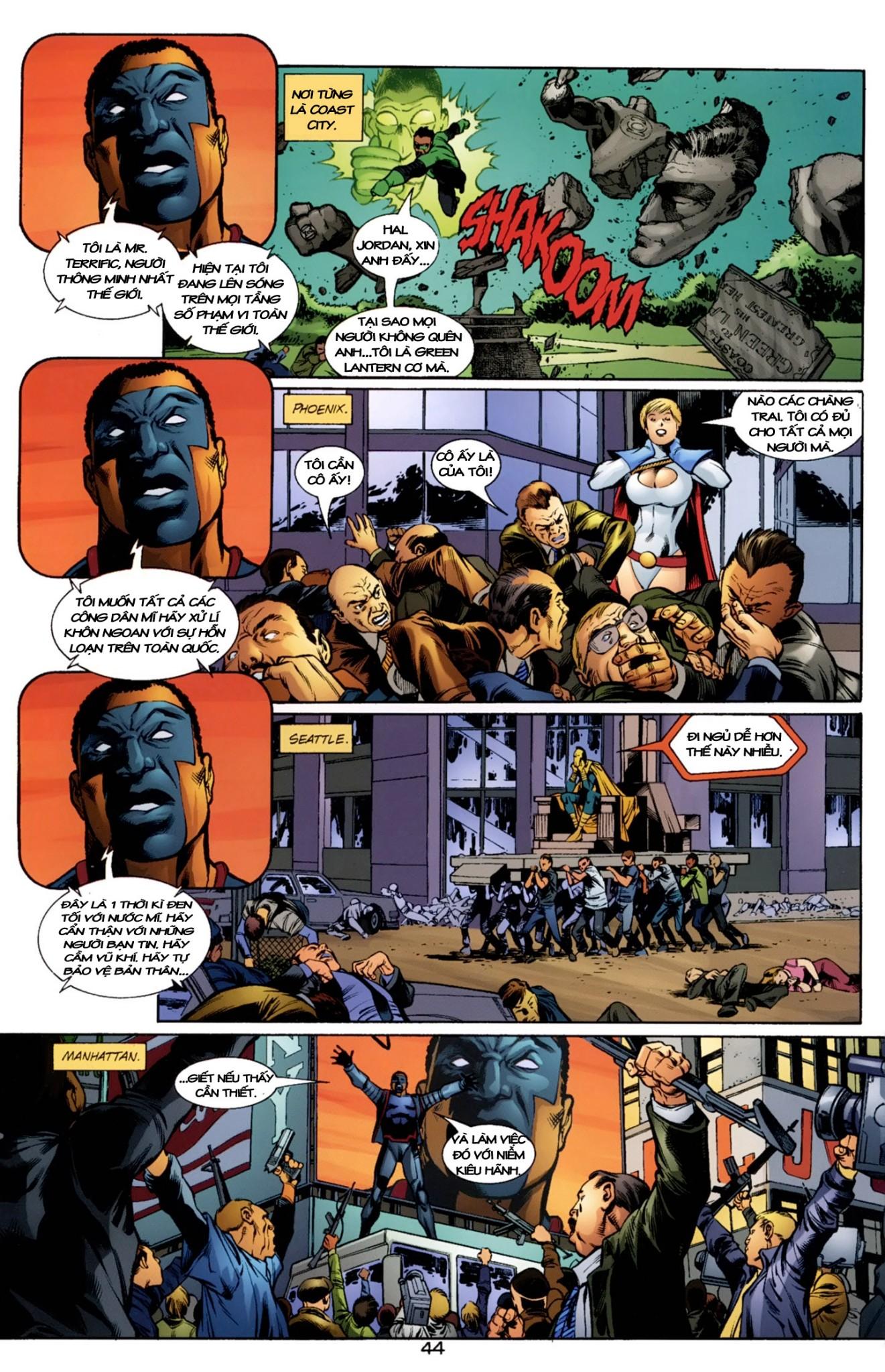 JLA JSA: VIRTUE AND VICE chap 2 - Trang 20