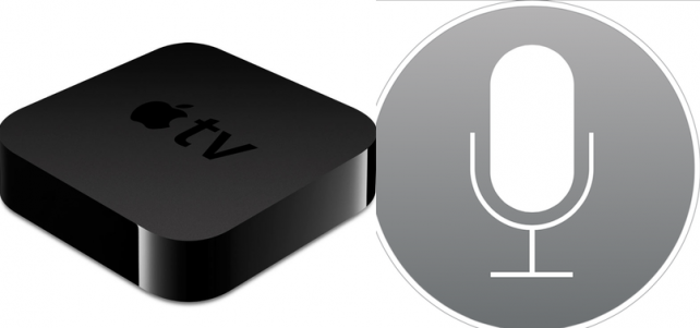 Siri Voice Control Support For Apple TV