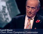 Lord Hunt wants to censor bloggers!