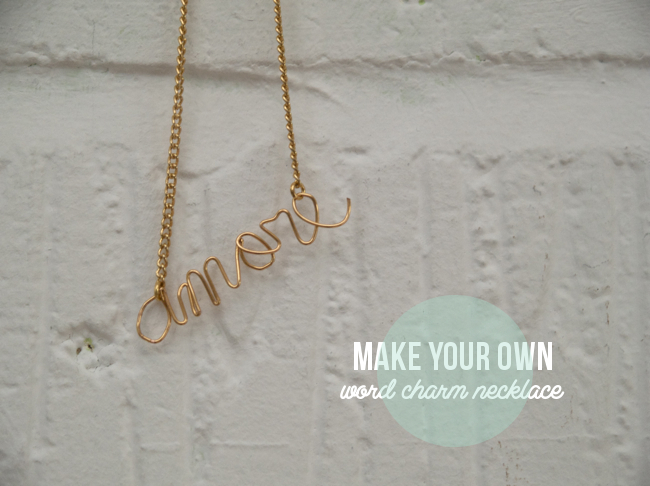 Make your own charm necklace via Randomly Happy