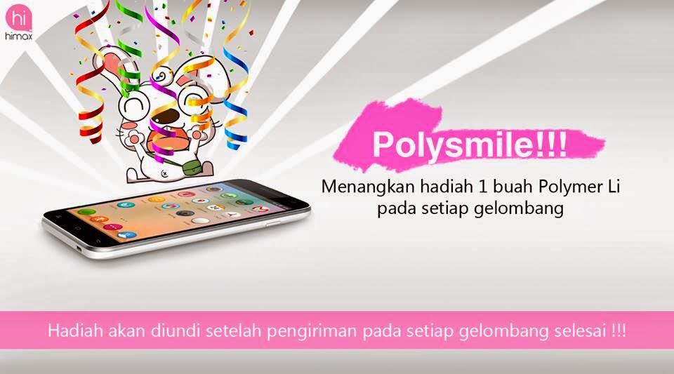 Buy Polymer Li di website himax-indonesia., paket apa saja dan  title=
