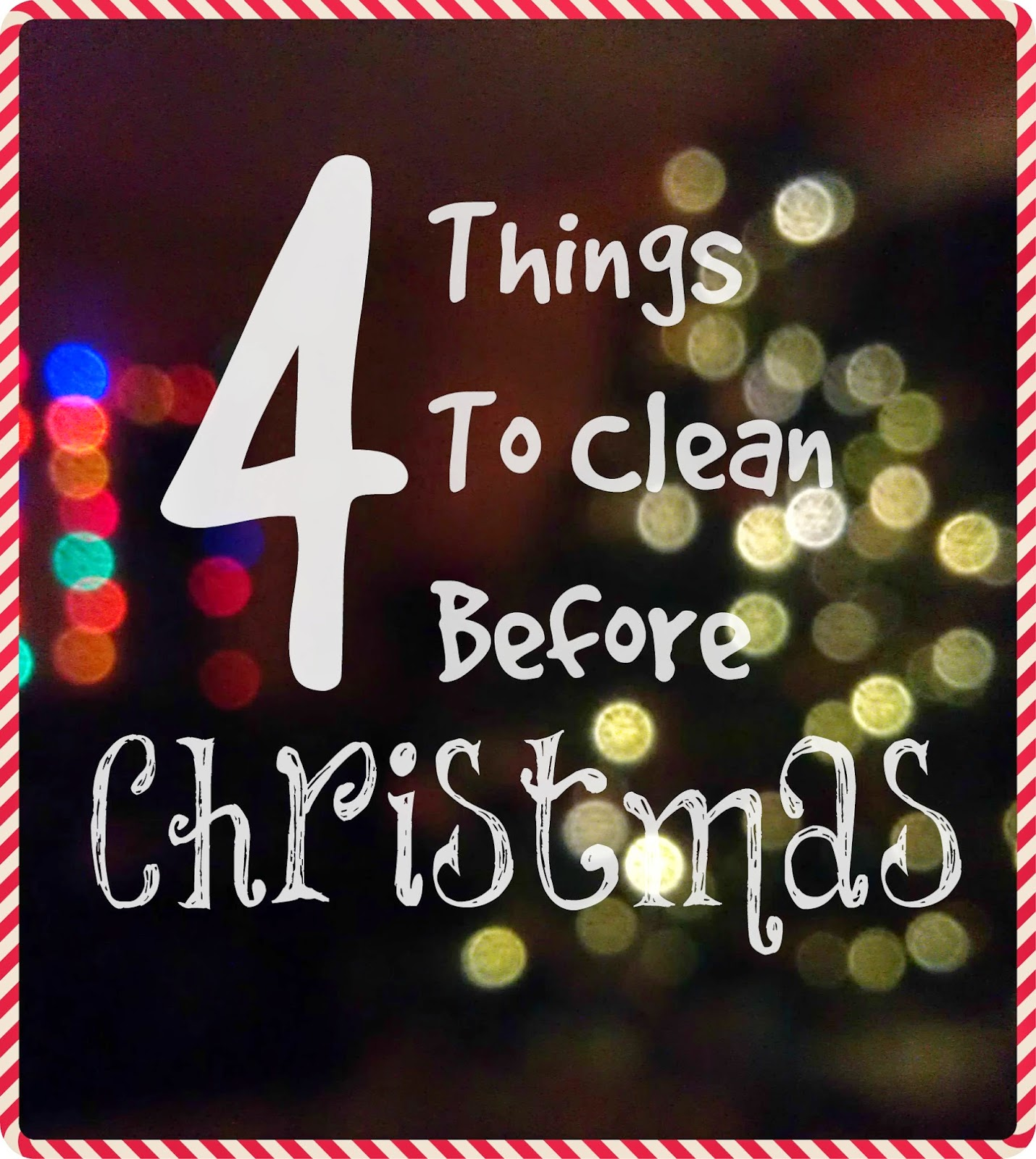 4 things to clean before Christmas #sponsored http://ooh.li/631c67d