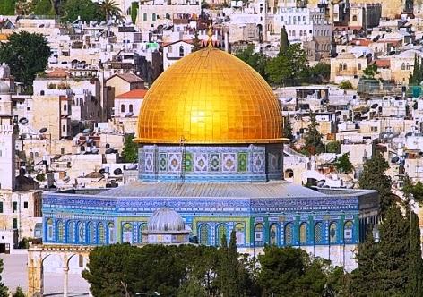 Mesquita de Omar ou Cúpula da Rocha - Jerusalém, Palestina