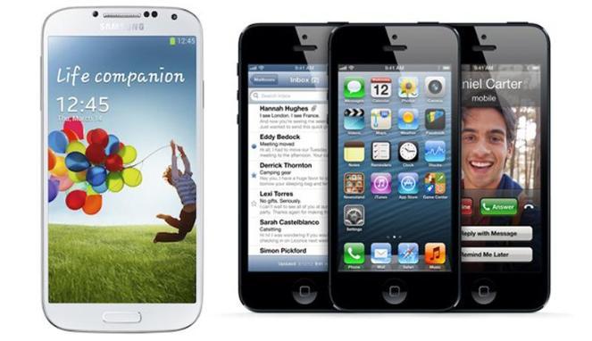 Galaxy Samsung iPhone 5
