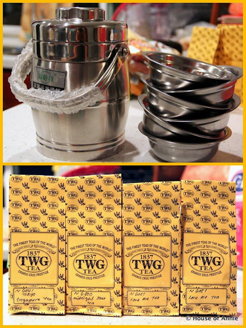 Tiffins, Tins and TWG Tea
