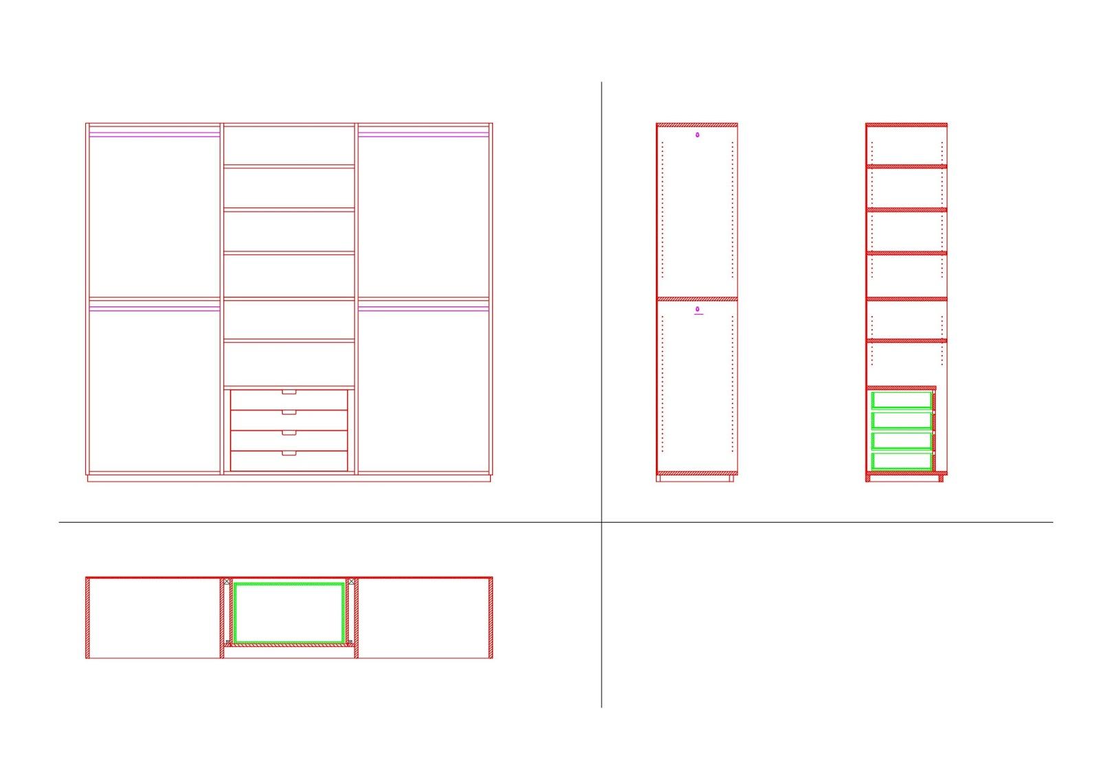 Costruiamo i mobili la costruzione del mobile 7 - Programma disegno mobili ...