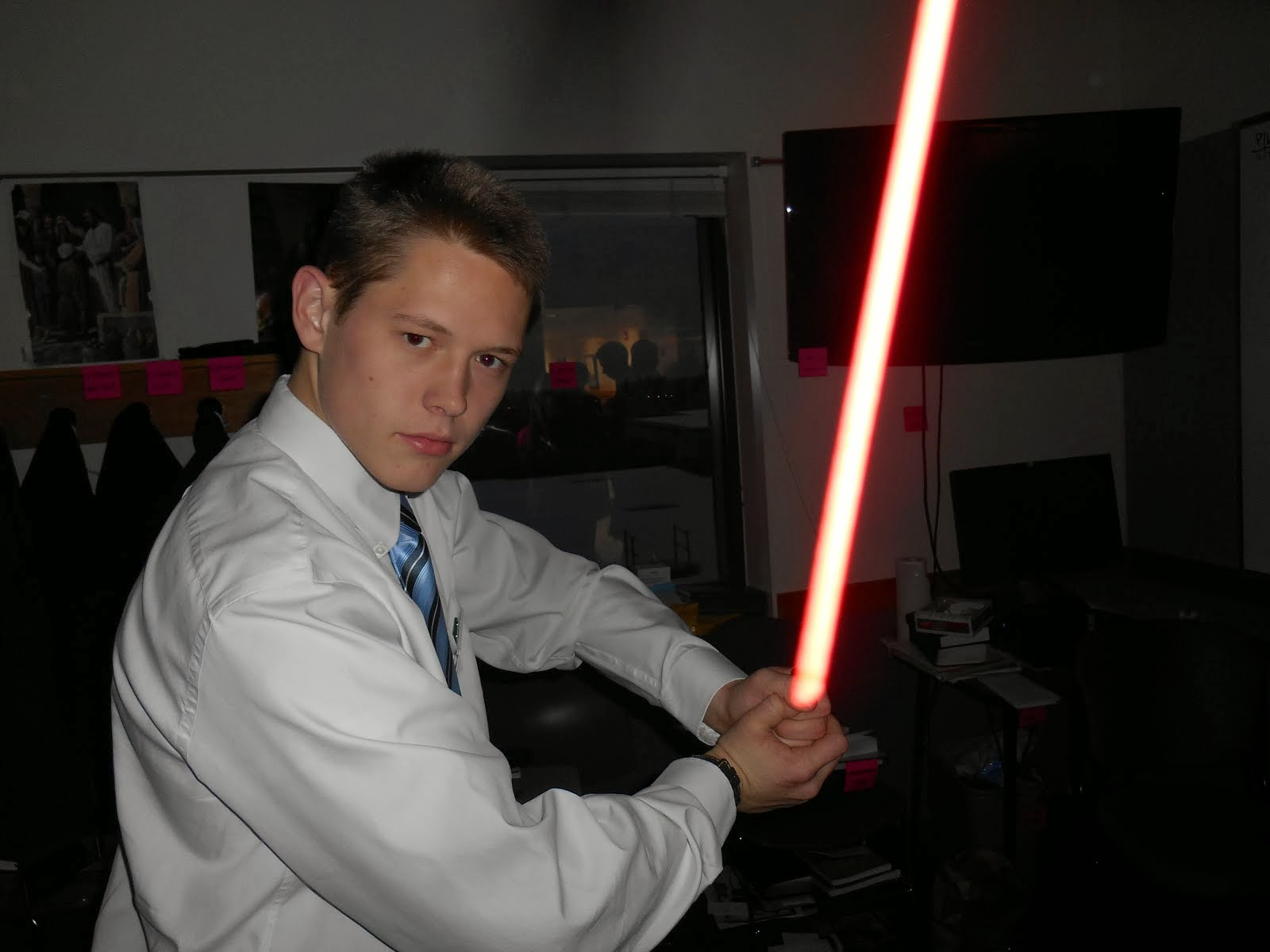 May the Force be with you, Elder Wilson