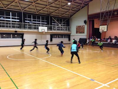 タグラグビー練習