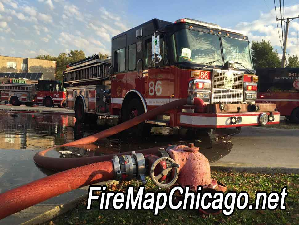 Fire Map Chicago