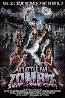 baixar capa A Little Bit Zombie   BRRip AVI + RMVB Legendado