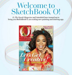 O, The Oprah Magazine and Autodesk release SketchBook O App For iPad