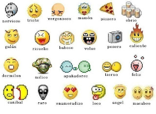 Emoticonos para etiquetar