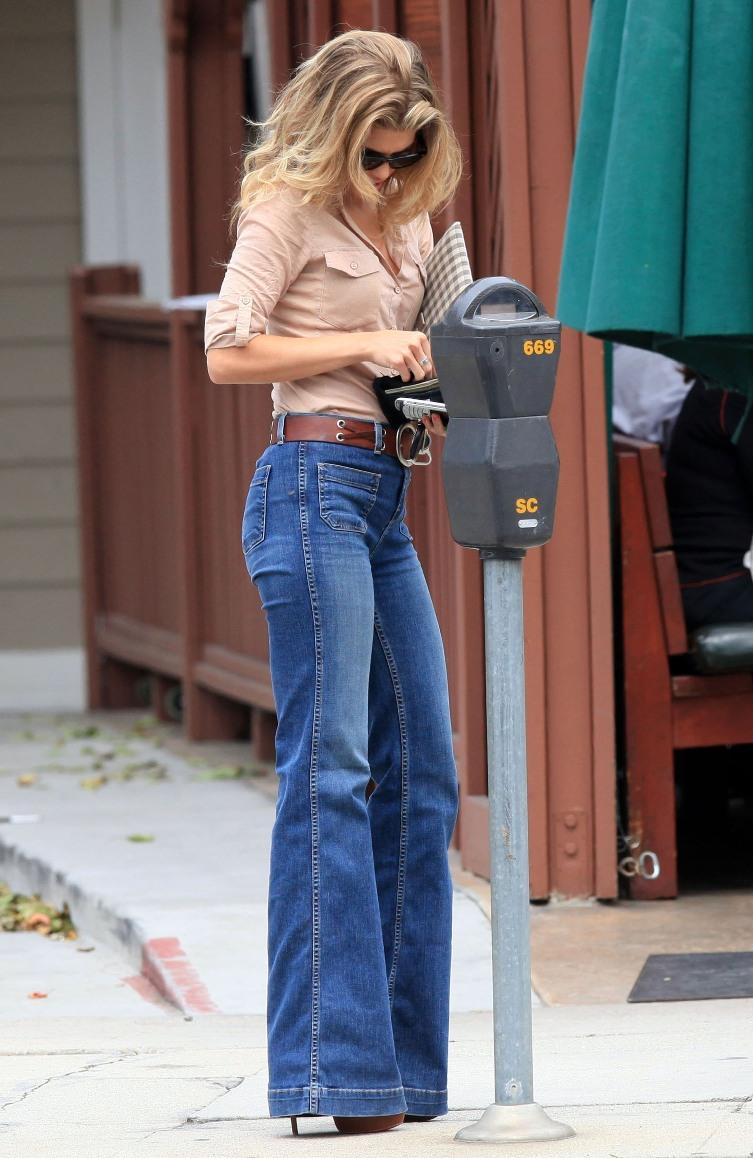 Black Bootcut Jeans Womens