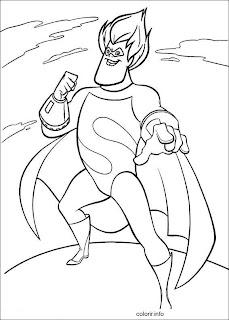 dicas de Desenhos de Super Herois para imprimir