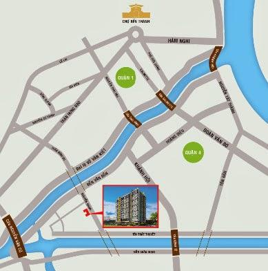 Vị trí căn hộ Galaxy 9