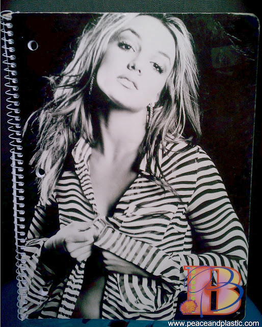 Britney Spears Notebook