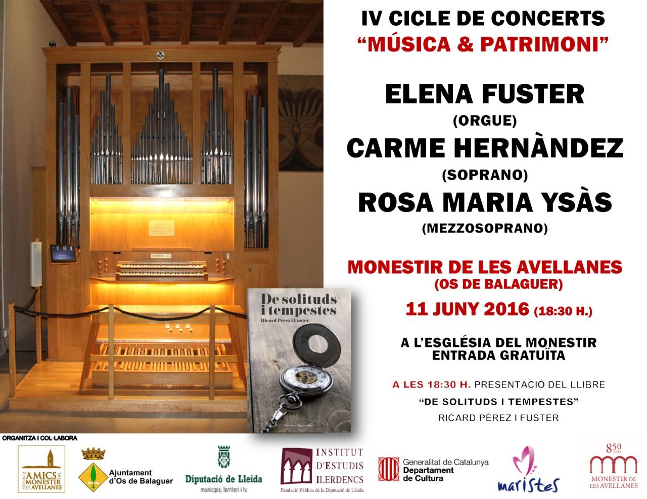 MONESTIR DE LES AVELLANES 11/06/2016